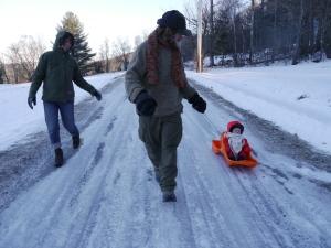 Karen, Papa and Waylon