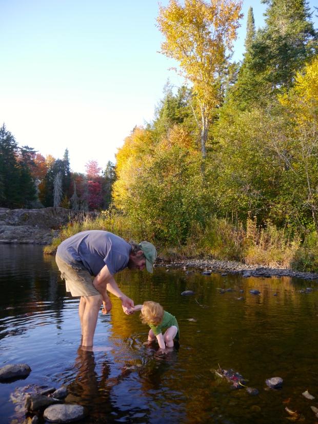 Fishing for rocks
