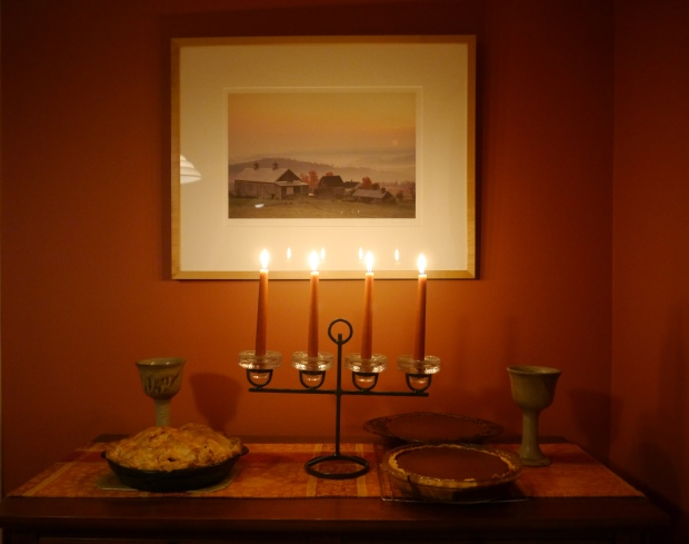 pies and candlelight
