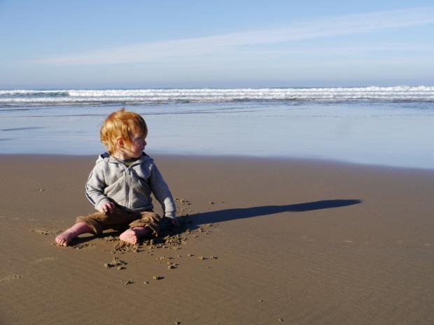 morning on Pismo beach